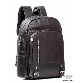 Рюкзак кожаный Tiding Bag M7808A