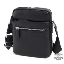 Мягкая мужская сумка через плечо из натуральной кожи Tiding Bag M900-1A