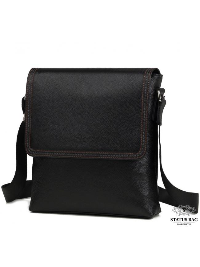 Сумка на плечо из натуральной кожи мужская Tiding Bag M9806-1A