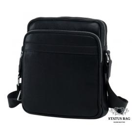 Стильная сумка через плечо мужская кожаная TIDING BAG NA50-2028A