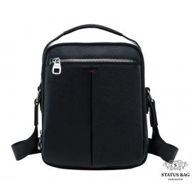 Мужская барсетка из натуральной кожи черз плечо Tiding Bag NA50-2101A