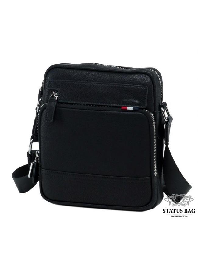 Компактная мужская кожаная сумка через плечо Tiding Bag NA50-8113A