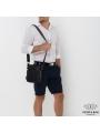 Компактная мужская кожаная сумка через плечо Tiding Bag NA50-8113A фото №2