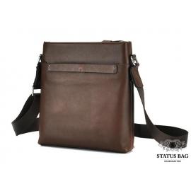 Мессенджер через плечо мужской кожаный Tiding Bag NM17-1018-2C