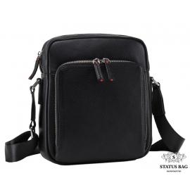Классическая мужская кожаная сумка через плечо Tiding Bag NM17-33960-2A
