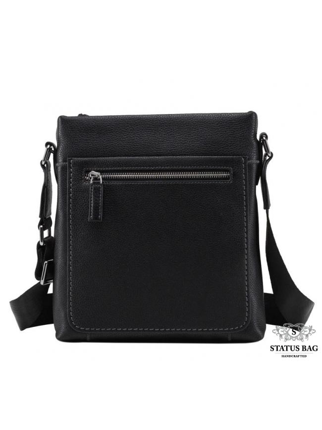 Классическая мужская кожаная сумка через плечо TIDING BAG NM17-9105-2A