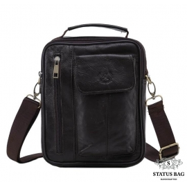 Мессенджер HD Leather NM24-209C