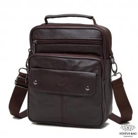 Мессенджер HD Leather NM24-212C