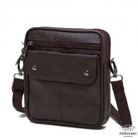 Мессенджер HD Leather NM24-348C