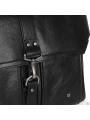 Мужская сумка-мессенджер с кожаныи ремнем Blamont P531711