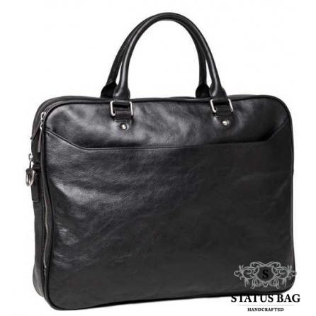 Элитная сумка-портфель мужская кожаная Blamont P5912061