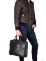 Элитная сумка-портфель мужская кожаная Blamont P5912061 фото №2
