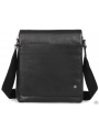 Элитная мужская кожаная сумка чрезе плечо с клапаном Blamont P7912021 фото №11