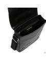 Элитная мужская кожаная сумка чрезе плечо с клапаном Blamont P7912021 фото №10