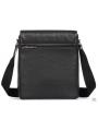 Элитная мужская кожаная сумка чрезе плечо с клапаном Blamont P7912021 фото №9
