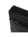 Элитная мужская кожаная сумка чрезе плечо с клапаном Blamont P7912021