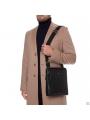 Функциональная сумка через плечо мужская кожаная Blamont P7912031 фото №12