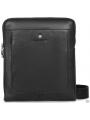 Функциональная сумка через плечо мужская кожаная Blamont P7912031 фото №11