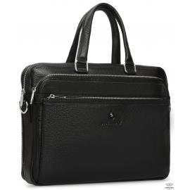 Мужская кожаная деловая сумка для документов Royal Bag RB-010A