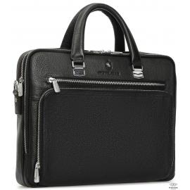 Деловая мужская кожаная сумка Royal Bag RB-021A