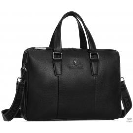 Вместительная кожаная мужская сумка Royal Bag RB50031