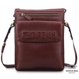 Каркасная мужская сумка через плечо из натуральной кожи Tifenis Tf69978-2C