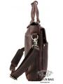 Сумка-портфель для ноутбука мужская кожаная 17 дюймов Tiding Bag t1096 фото №5