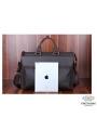 Сумка-портфель для ноутбука мужская кожаная 17 дюймов Tiding Bag t1096 фото №4