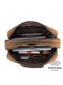Вместительная мужская сумка-портфель винтажная кожа Tiding Bag t29523 фото №5