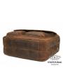 Вместительная мужская сумка-портфель винтажная кожа Tiding Bag t29523 фото №4