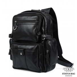 Рюкзак кожаный TIDING BAG T3001