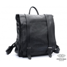 Рюкзак кожаный TIDING BAG T3057